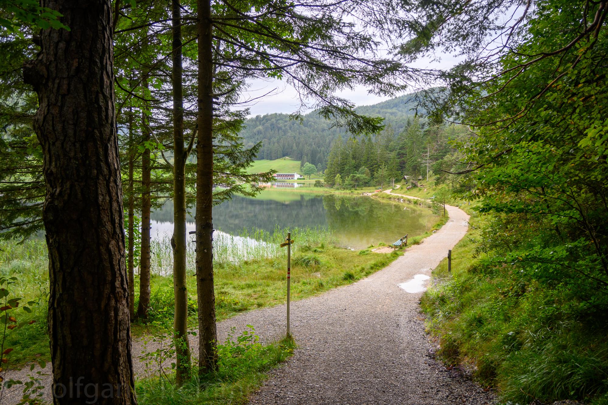 Rundweg Lautersee – Ferchensee – Hoher Kranzberg