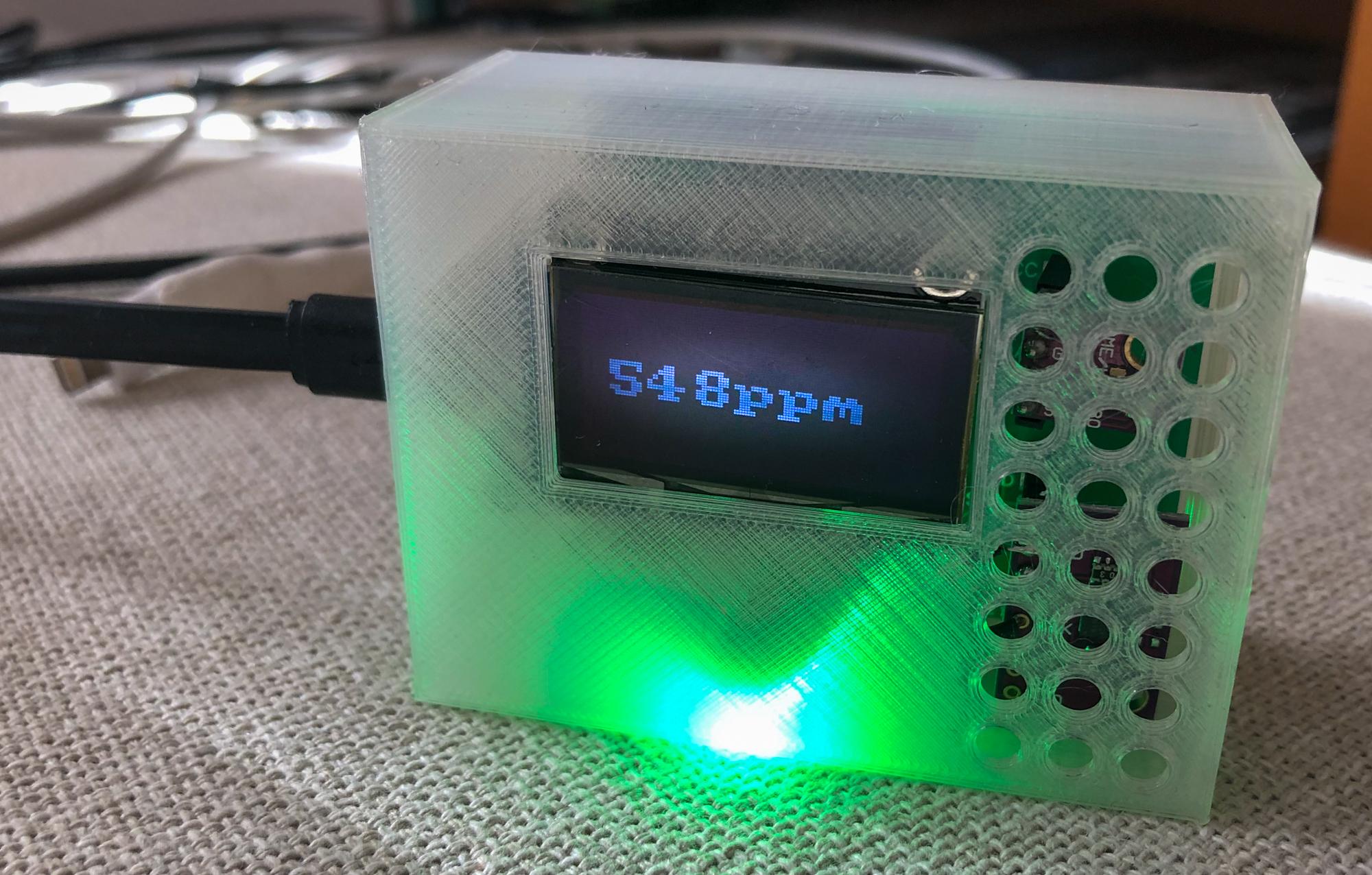 Making stuff: CO2 monitor