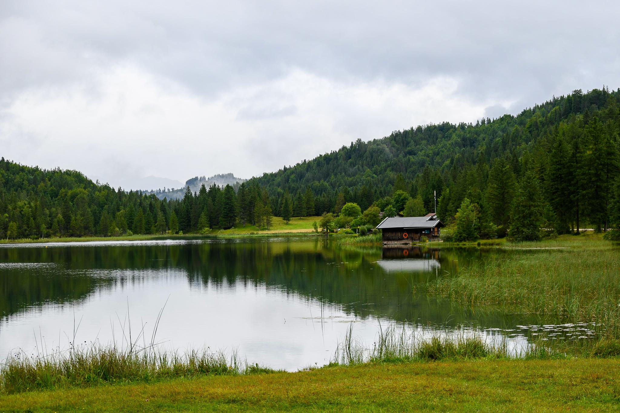 Kleine Wanderung zum Lautersee und Ferchensee